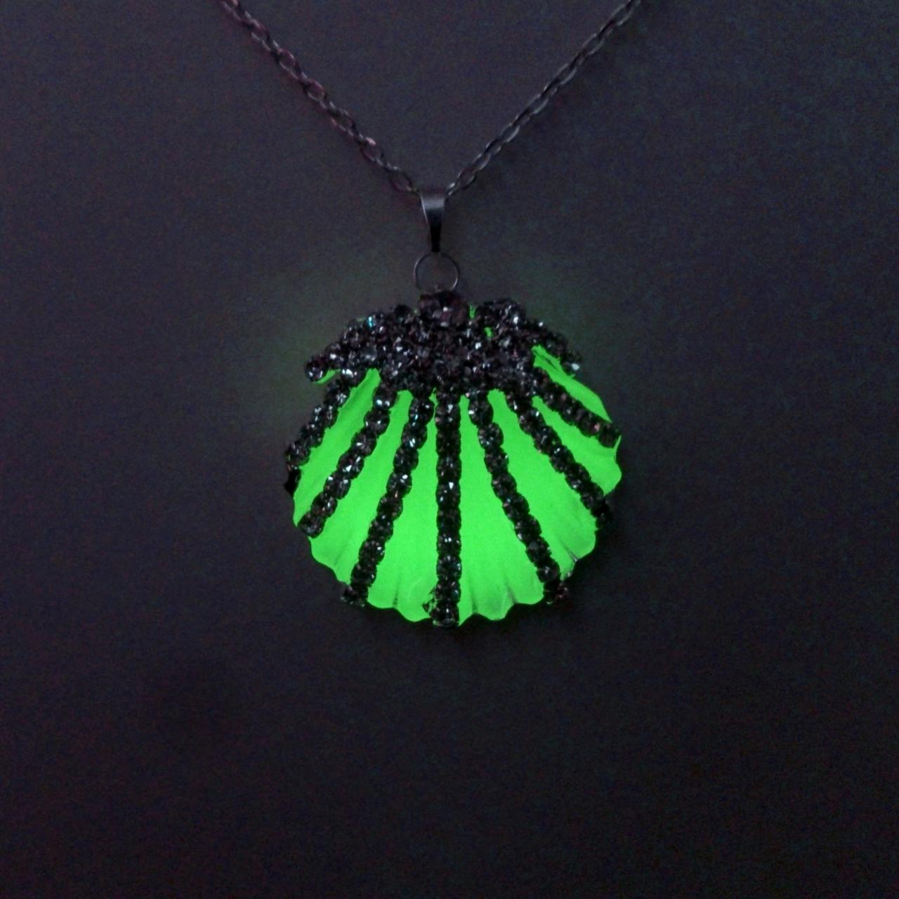 set from image clover necklaces glowing necklace swarovski pendants